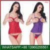 Hot Vente de lingerie sexy avec plus de la taille de la conception d'entrejambe ouvert