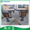 Banco de madera al aire libre de 2 asientos con la tabla, la tabla de comida campestre de madera y el banco (FY-051HB)