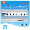 19 voix des canaux FXO/FXS des unités d'extension 1~60 de téléphone d'armoire au-dessus E1 du PCM Mux
