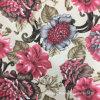 Новые шаблоны цветов, шторки, на кровать и диван ткань, используется для текстильных изделий и одежды, распечатать ткань