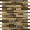 Mosaico material del vidrio del azulejo de la pared y de piso de la decoración