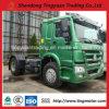 Cabeça de caminhão trator HOWO caminhão trator 4X2 cabeça do reboque de eixo duplo máquina para venda
