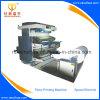 Machine d'impression de papier bobine à bobine de papier de métier de 2 couleurs