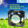 China Hot Selling Good Quality 92mm Axial Blower Fan Manufacturer für Industrial Ventilation mit CER RoHS CCC Certificate (F2E-120B/S)