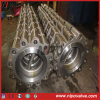 Placa Dupla em aço inoxidável Espigão de giro da válvula de retenção do tipo