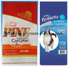 Nuevo bolso tejido PP plástico material del empaquetado para la litera de gato