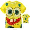Childern T-Shirt/100%の綿のTシャツか漫画の子供のTシャツ