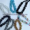 Ожерелья шикарных ювелирных изделий способа вышитый бисером (CTMR121107004-3)