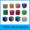 Cube 216 5mm en Rubik de bille magnétique de qualité néo-