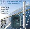 pompe solaire submersible centrifuge du puits 4sp2/55-3.0 profond