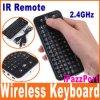 Teclado sem fio da mosca de Ipazzport mini/rato do ar com a modalidade 2 que aprende o telecontrole do IR (KP-810-16)