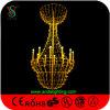Candelabro da luz da vela do diodo emissor de luz do Natal