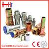 Acoplamento rápido hidráulico inoxidável do conetor da tubulação de aço do ISO