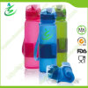 600ml Soft Silicone Foldbale Collaspsible Water Bottle