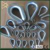 탄소 강철 DIN6899A 철사 밧줄 골무