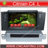シトロエンC4 L (AD-7156)のためのA9 CPUを搭載するPure Android 4.4 Car DVD Playerのための車DVD Player Capacitive Touch Screen GPS Bluetooth