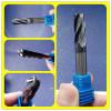 2 ferramentas do moinho de extremidade da parte inferior lisa do cortador do carboneto das flautas