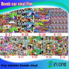 Pellicola auto di Doodle degli autoadesivi della bomba, autoadesivo della decalcomania del vinile di arte dei graffiti, pellicole di colore del cambiamento dell'automobile (B-27-B-34)