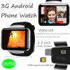 Grosse intelligente androide Uhr des Screen-3G mit WiFi (DM98)