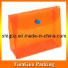 PVC claro Promotional Bag con Snap Button Closure