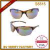Fait dans des lunettes de soleil de sport de polycarbonate de la Chine (S5515)