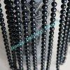 黒いColor 8mm Beads Decorative Ornament Metal Beaded Chains