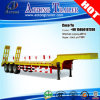 3 Fuwa Axles Lowbed Semi Trailer con Ladder Pitching Bar