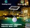 Lampada da parete economizzatrice d'energia autoalimentata solare del giardino del LED con IP65