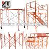 Blocco per grafici d'acciaio verniciato TUFFO Scafolding di Guangzhou H per il progetto della costruzione di edifici