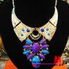 方法宝石類のめっきされる熱いチョークバルブのネックレスの金ハンドメイドの宝石類(BDF91236)
