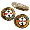 Qualitäts-Metallarmee Chanllange Cloisonne Münze mit Vergoldung (YB-c-041)