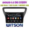 Grand écran 9 Witson Android 6.0 Lova DVD de voiture pour Chevrolet RV (basse) 2016