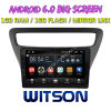 Witson grande ecrã de 9 com sistema Android 6.0 aluguer de DVD para Chevrolet Lova RV (BAIXO) 2016