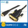 Spina di HDMI 19pin al cavo di Digitahi della spina di DVI