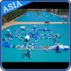 O parque ao ar livre o mais forte para jogos da água, parque inflável do PVC da água, equipamento usado do parque da água para a venda