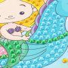 La venta al por mayor embroma los juguetes intelectuales de las etiquetas engomadas del mosaico de DIY EVA