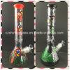 Drucken-Farben-rauchendes Wasser-Glasrohr für Tabak-Rohr-Becher