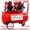 50L Air Compressor Silence Oilless exempt d'huile compresseur à vis
