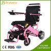 Sedia a rotelle Ultralight portatile di potere di aiuto di meriti di vendita calda