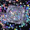 Flocos por atacado da poeira da galáxia, flocos quadrados híbridos do Glitter dos pregos