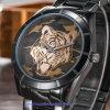 Kundenspezifische Firmenzeichen-Mann-Quarz-Uhr-Form-Armbanduhren für Männer (WY-17017D)