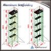 Башня ремонтины конкурентоспособной цены передвижная алюминиевая