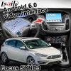 GPS van Lsailt de Androïde Doos van het Systeem van de Navigatie voor Ford Focus Sync 3 de VideoLink Waze Yandex van de Spiegel van de Interface