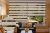 Yushunのシマウマは安い価格のホーム装飾のための盲目のシマウマのカーテンまたは日夜ブラインドの巻上げ式ブラインドを日夜盲目にする