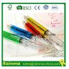 Crayon lecteur de bille en plastique d'injection de type de promotion de cadeau de forme neuve de seringue