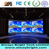 Muestra de alquiler de interior a todo color de la alta definición P3.91 LED de Abt
