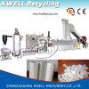 Überschüssiger Plastikfilm, der die Maschine/Plastikfaser-Granulation herstellen Maschine aufbereitet