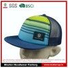 Chapéu do Snapback do poliéster do tamanho do miúdo com correção de programa da etiqueta