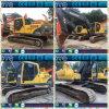 Excavatrice hydraulique utilisée de chenille de Volvo Ec210b à vendre