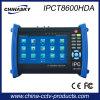7 '' IP, Ahd, TVI y Cvi Cámaras probador de circuito cerrado de televisión (IPCT8600HDA)